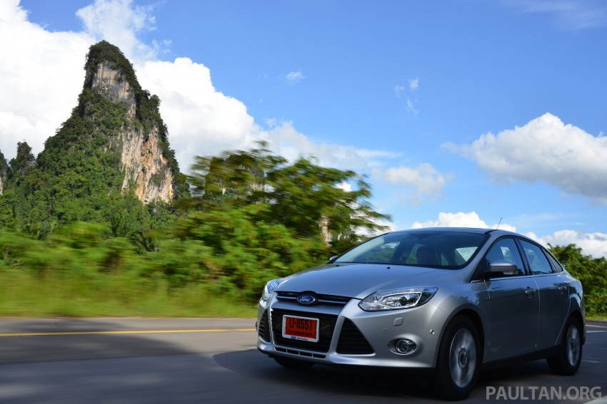 DRIVEN: New Ford Focus Hatch and Sedan in Krabi Image #118840