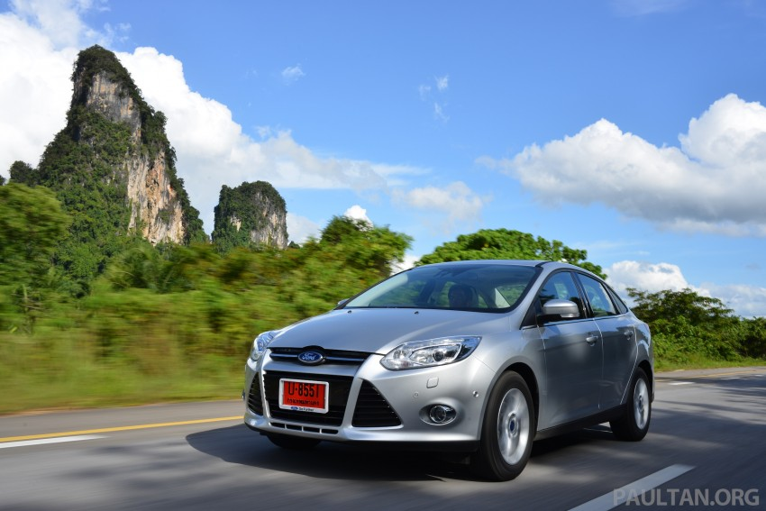 DRIVEN: New Ford Focus Hatch and Sedan in Krabi Image #118841