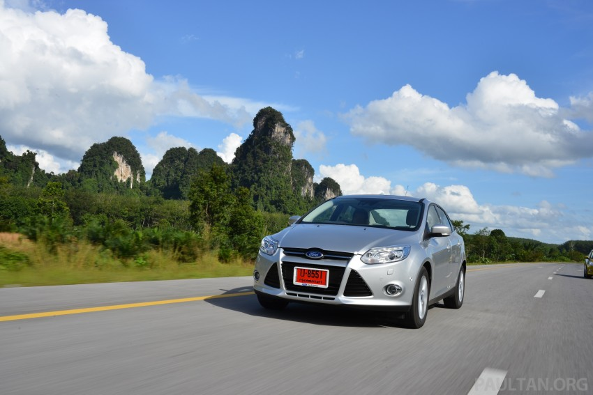 DRIVEN: New Ford Focus Hatch and Sedan in Krabi Image #118842