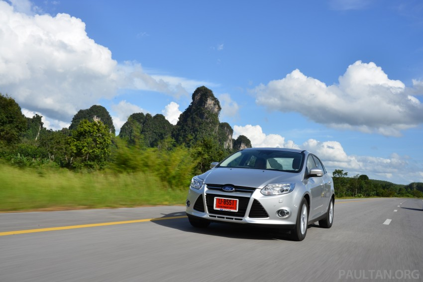 DRIVEN: New Ford Focus Hatch and Sedan in Krabi Image #118843