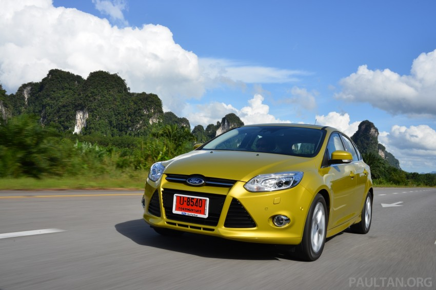 DRIVEN: New Ford Focus Hatch and Sedan in Krabi Image #118844