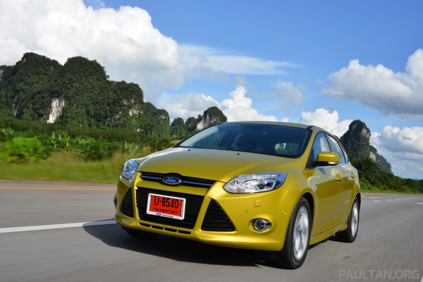DRIVEN: New Ford Focus Hatch and Sedan in Krabi Image #118845