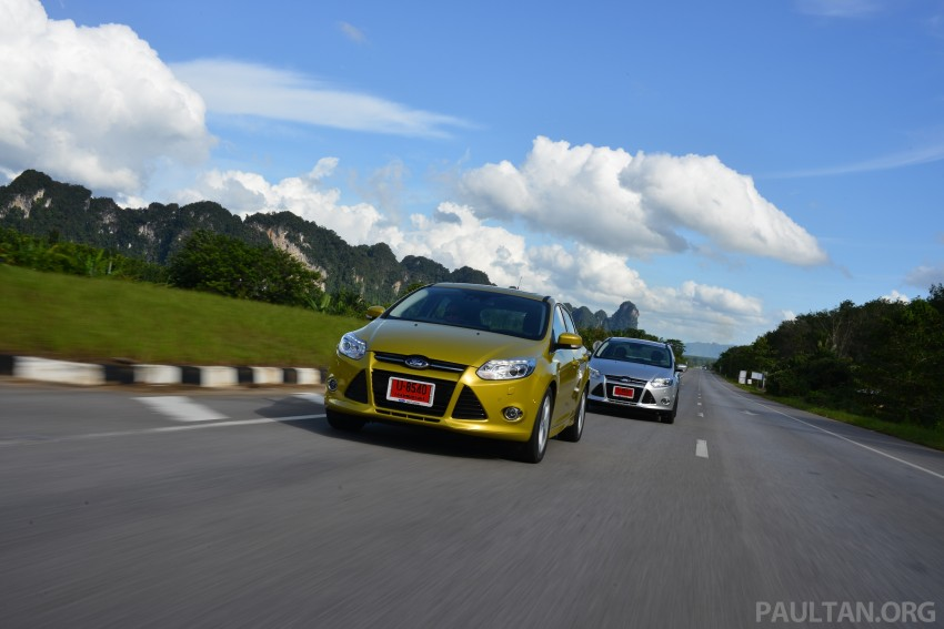 DRIVEN: New Ford Focus Hatch and Sedan in Krabi Image #118846