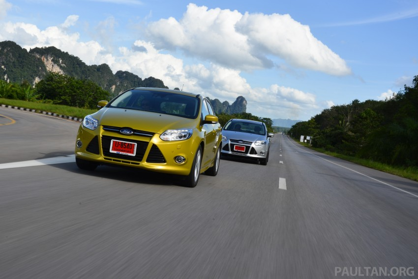 DRIVEN: New Ford Focus Hatch and Sedan in Krabi Image #118847