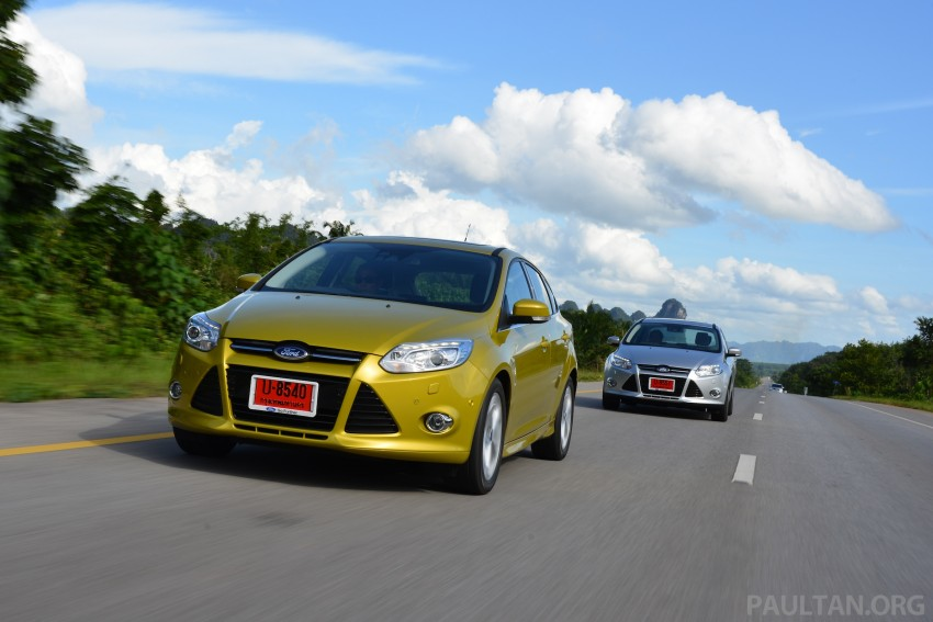 DRIVEN: New Ford Focus Hatch and Sedan in Krabi Image #118848