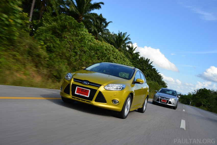 DRIVEN: New Ford Focus Hatch and Sedan in Krabi Image #118849