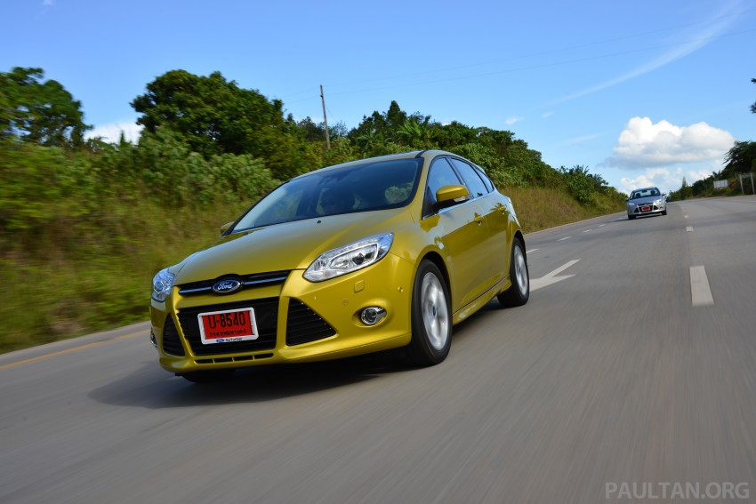 DRIVEN: New Ford Focus Hatch and Sedan in Krabi Image #118850