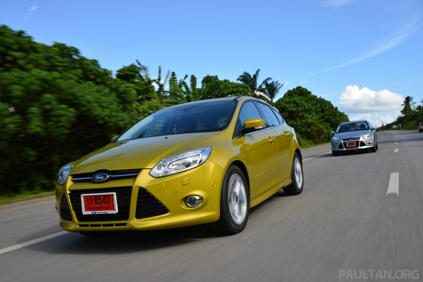DRIVEN: New Ford Focus Hatch and Sedan in Krabi Image #118851