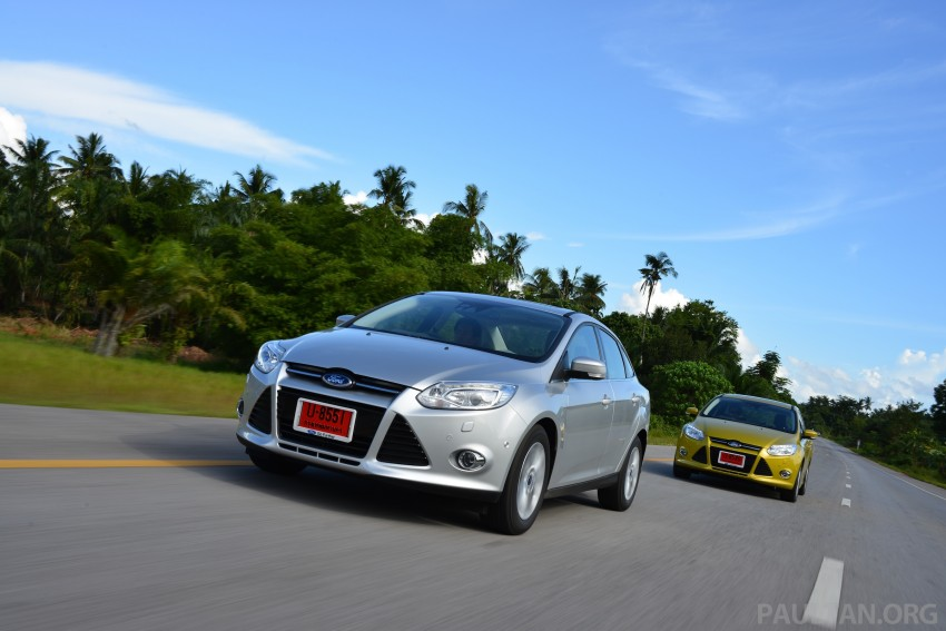 DRIVEN: New Ford Focus Hatch and Sedan in Krabi Image #118852