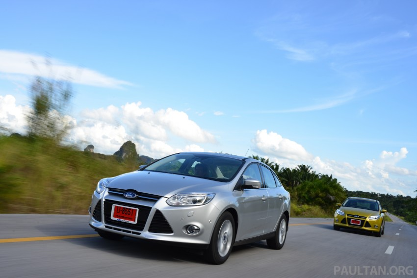 DRIVEN: New Ford Focus Hatch and Sedan in Krabi Image #118853