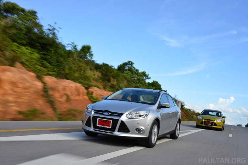 DRIVEN: New Ford Focus Hatch and Sedan in Krabi Image #118854