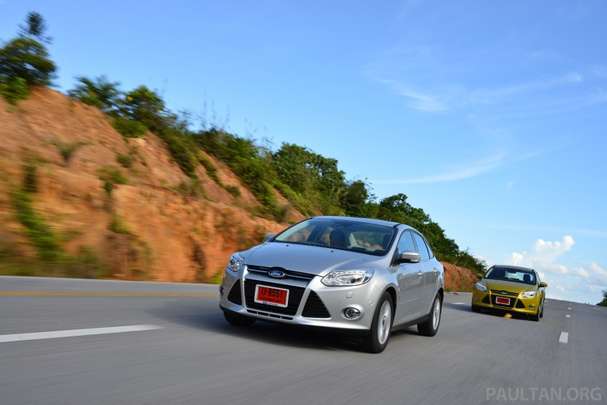 DRIVEN: New Ford Focus Hatch and Sedan in Krabi Image #118855