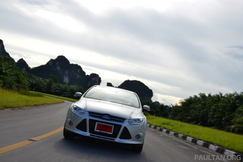 DRIVEN: New Ford Focus Hatch and Sedan in Krabi Image #118856