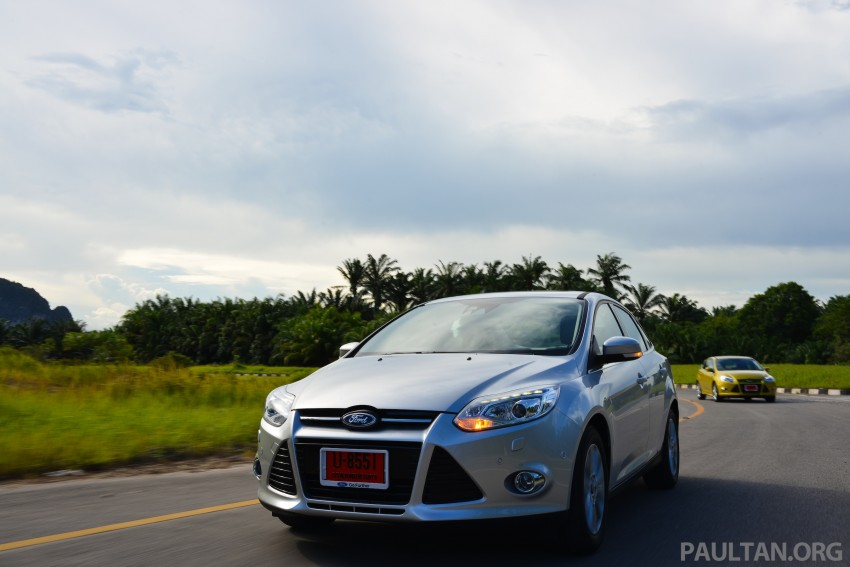 DRIVEN: New Ford Focus Hatch and Sedan in Krabi Image #118857