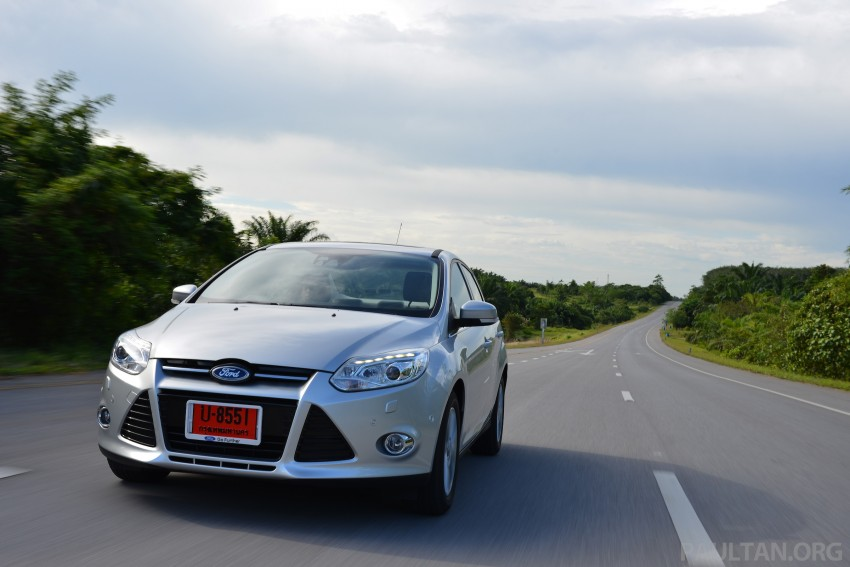 DRIVEN: New Ford Focus Hatch and Sedan in Krabi Image #118858