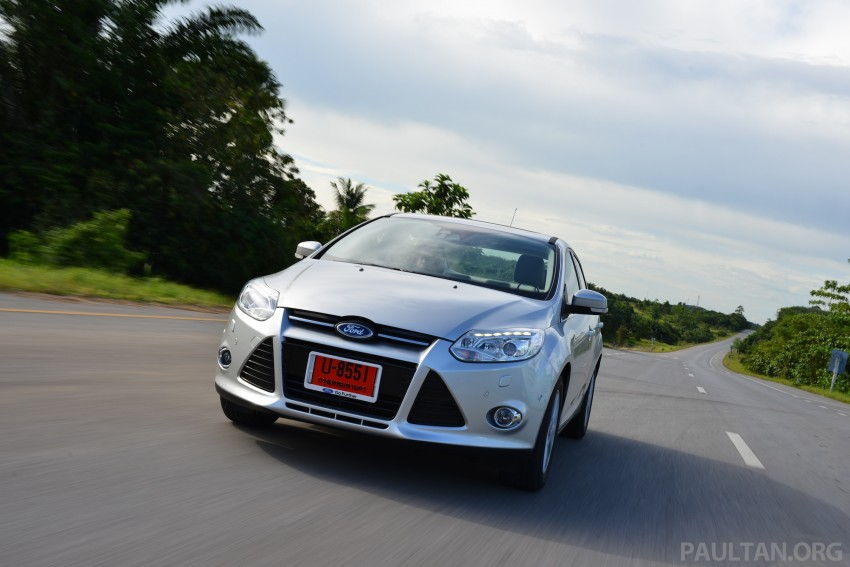 DRIVEN: New Ford Focus Hatch and Sedan in Krabi Image #118859