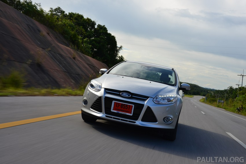 DRIVEN: New Ford Focus Hatch and Sedan in Krabi Image #118860