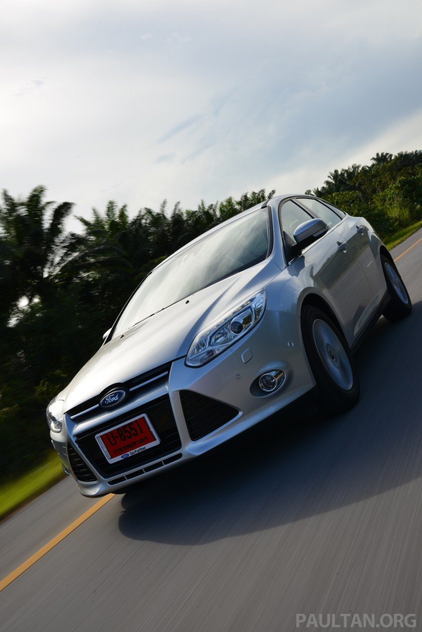DRIVEN: New Ford Focus Hatch and Sedan in Krabi Image #118861