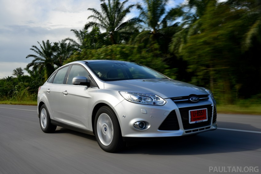 DRIVEN: New Ford Focus Hatch and Sedan in Krabi Image #118862