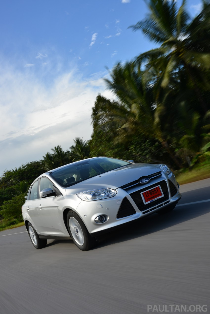 DRIVEN: New Ford Focus Hatch and Sedan in Krabi Image #118863