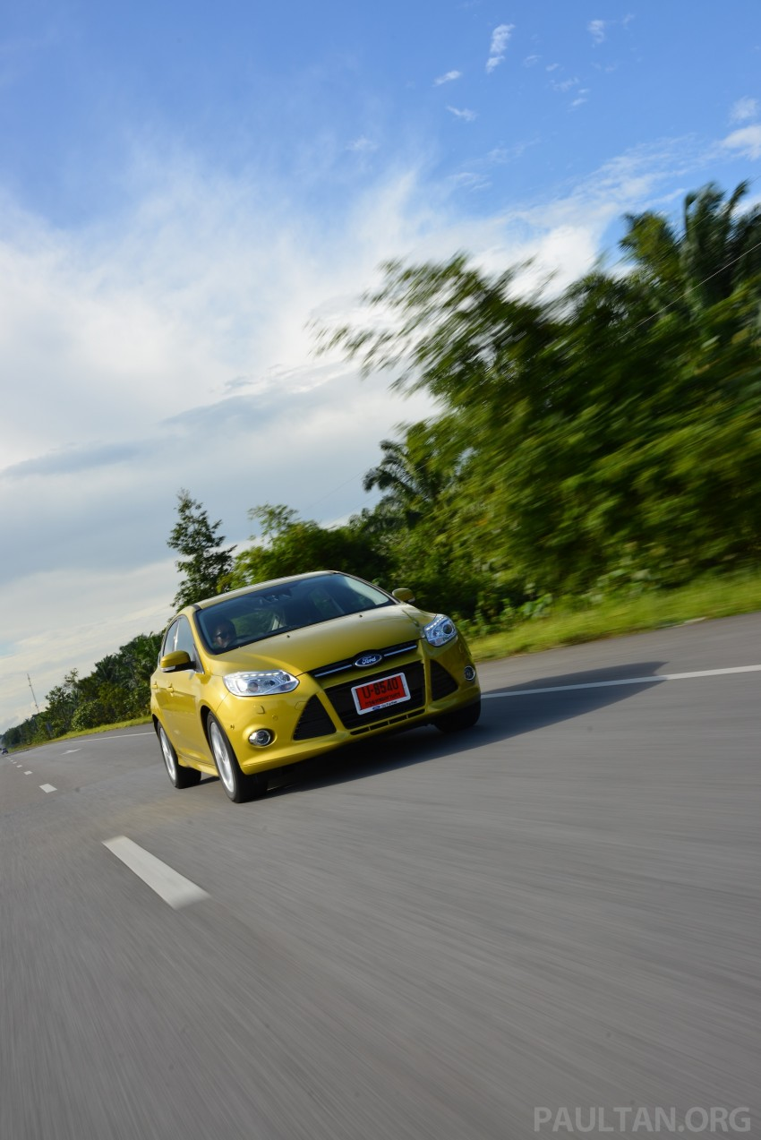 DRIVEN: New Ford Focus Hatch and Sedan in Krabi Image #118864