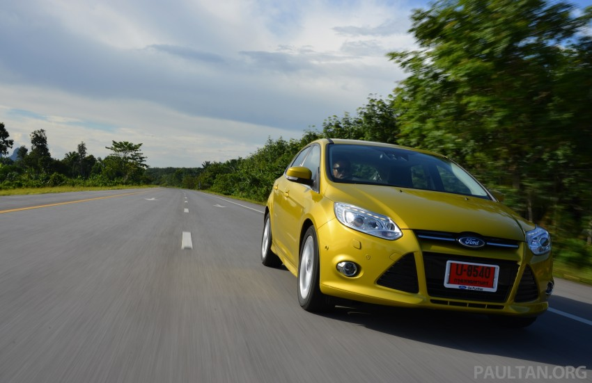 DRIVEN: New Ford Focus Hatch and Sedan in Krabi Image #118865
