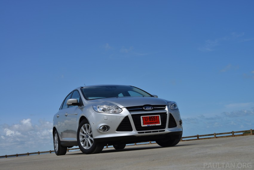 DRIVEN: New Ford Focus Hatch and Sedan in Krabi Image #118740