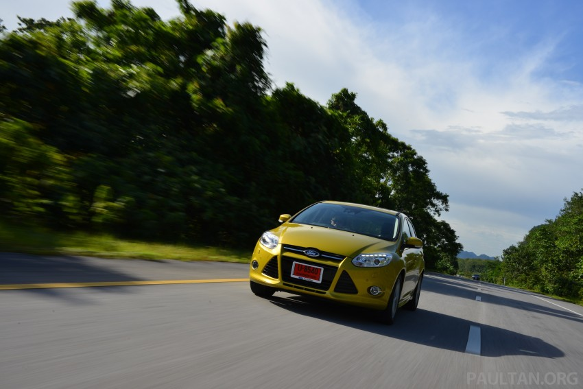 DRIVEN: New Ford Focus Hatch and Sedan in Krabi Image #118866