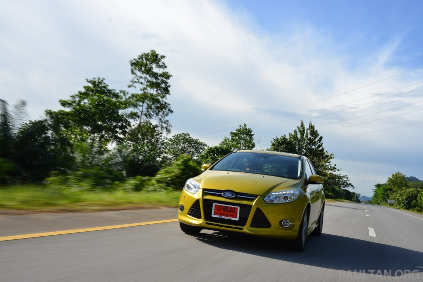DRIVEN: New Ford Focus Hatch and Sedan in Krabi Image #118867