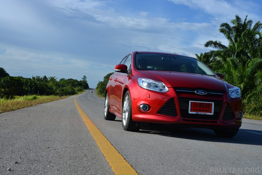 DRIVEN: New Ford Focus Hatch and Sedan in Krabi Image #118870