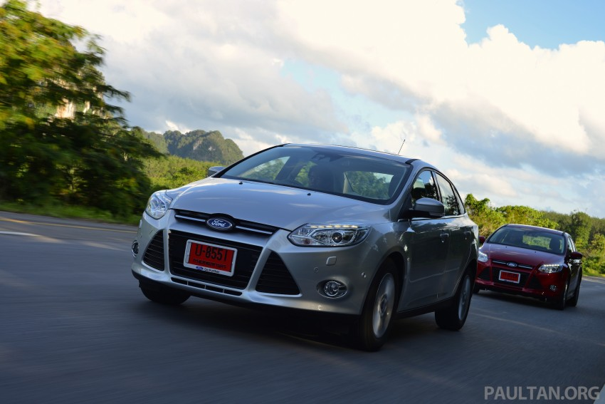 DRIVEN: New Ford Focus Hatch and Sedan in Krabi Image #118872