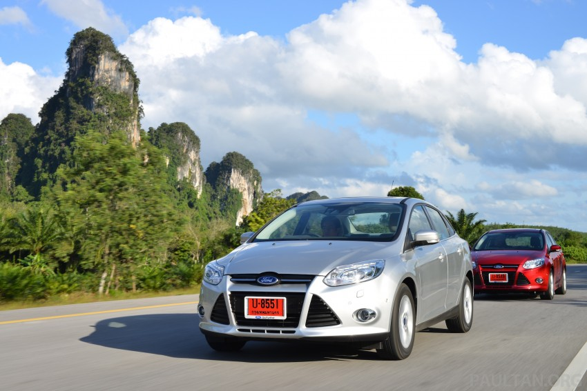 DRIVEN: New Ford Focus Hatch and Sedan in Krabi Image #118873