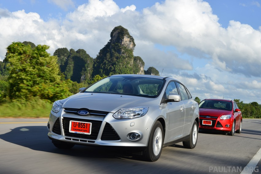 DRIVEN: New Ford Focus Hatch and Sedan in Krabi Image #118874