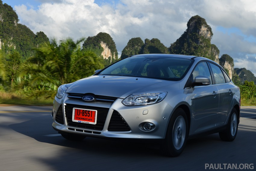 DRIVEN: New Ford Focus Hatch and Sedan in Krabi Image #118875