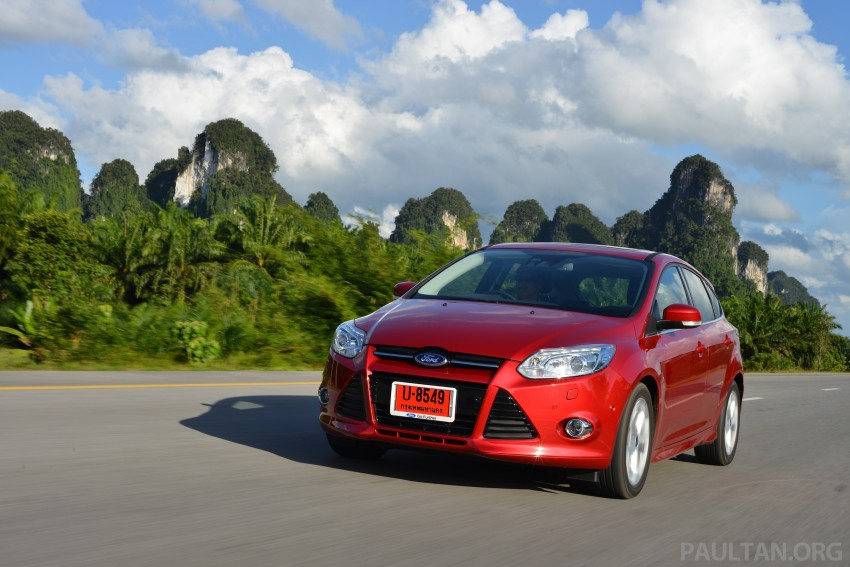 DRIVEN: New Ford Focus Hatch and Sedan in Krabi Image #118876