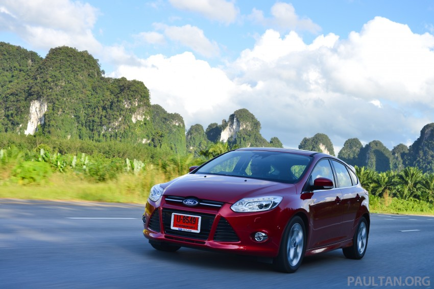 DRIVEN: New Ford Focus Hatch and Sedan in Krabi Image #118878