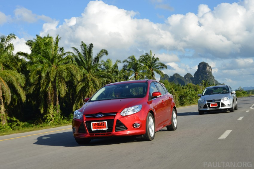 DRIVEN: New Ford Focus Hatch and Sedan in Krabi Image #118879
