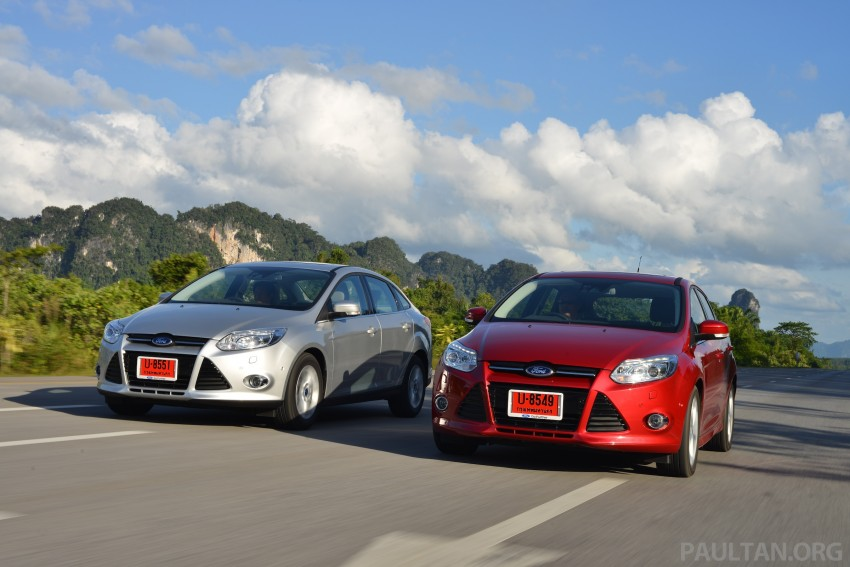 DRIVEN: New Ford Focus Hatch and Sedan in Krabi Image #118880