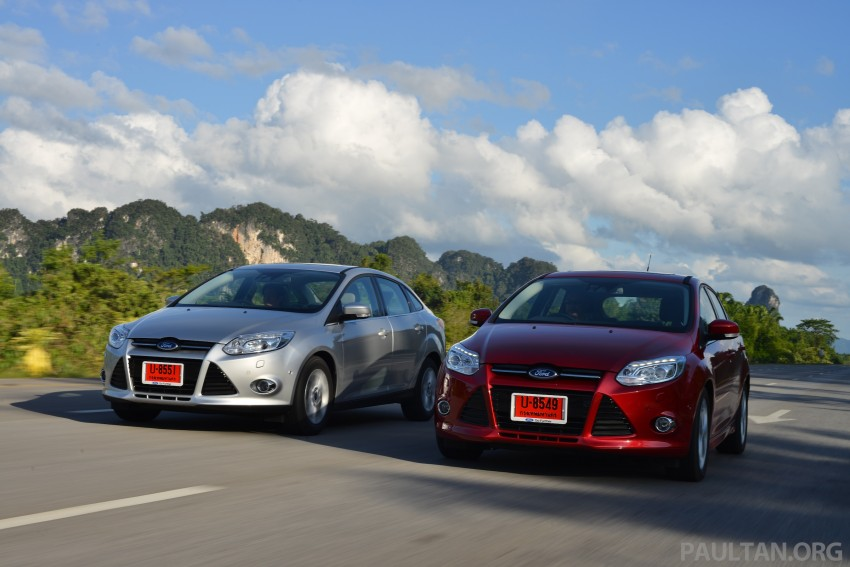 DRIVEN: New Ford Focus Hatch and Sedan in Krabi Image #118881
