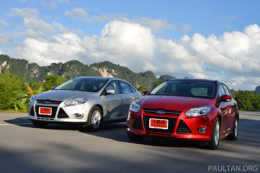 DRIVEN: New Ford Focus Hatch and Sedan in Krabi Image #118882