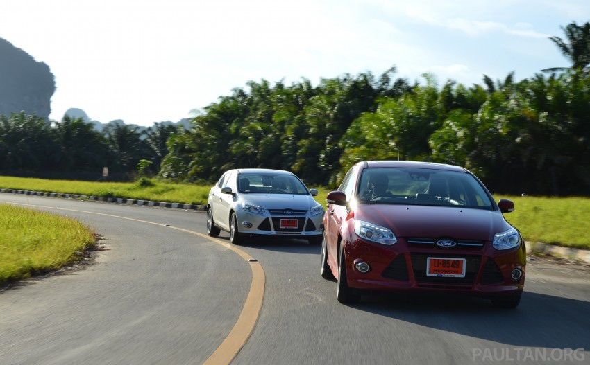 DRIVEN: New Ford Focus Hatch and Sedan in Krabi Image #118883