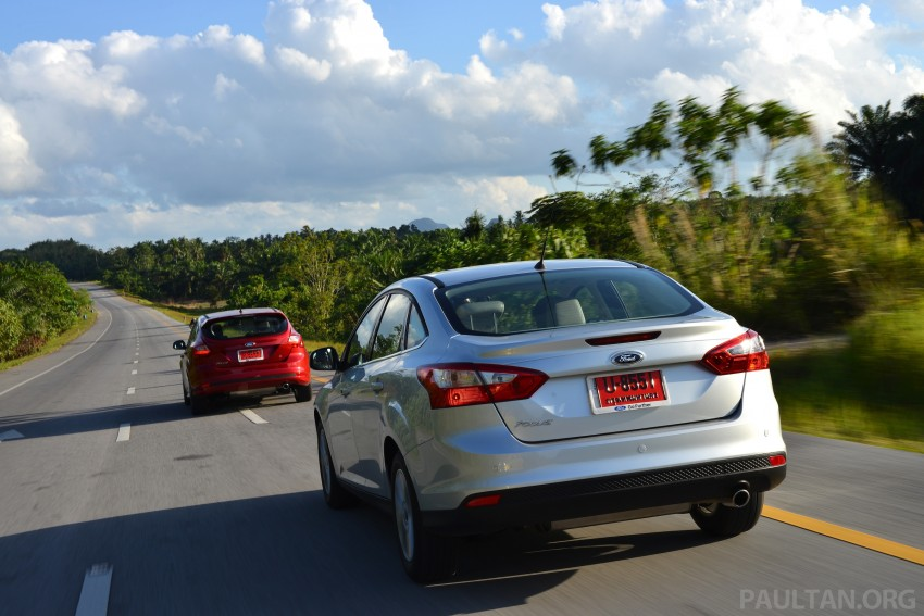 DRIVEN: New Ford Focus Hatch and Sedan in Krabi Image #118884