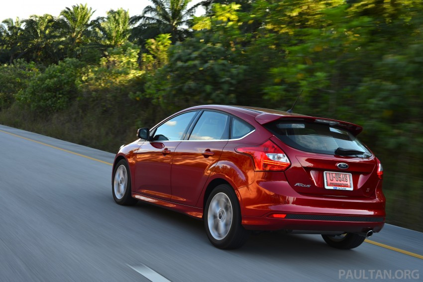 DRIVEN: New Ford Focus Hatch and Sedan in Krabi Image #118885