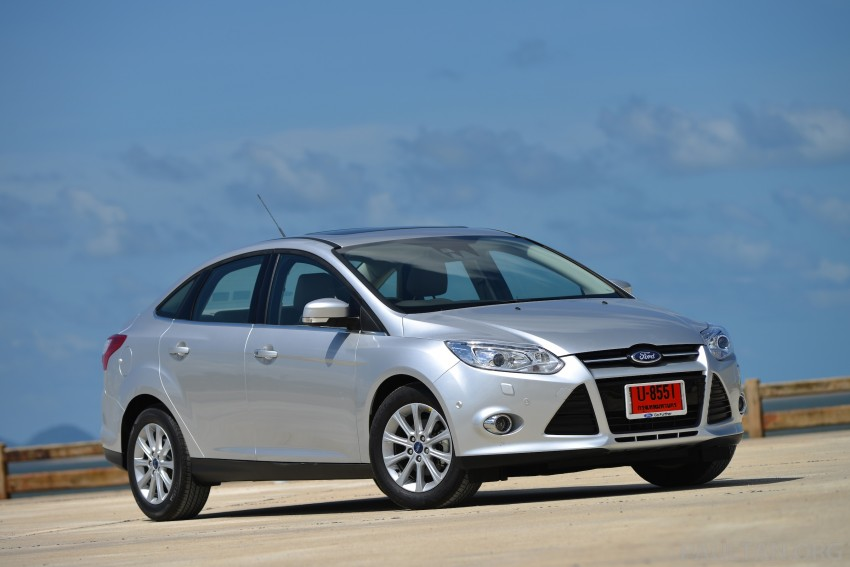 DRIVEN: New Ford Focus Hatch and Sedan in Krabi Image #118742