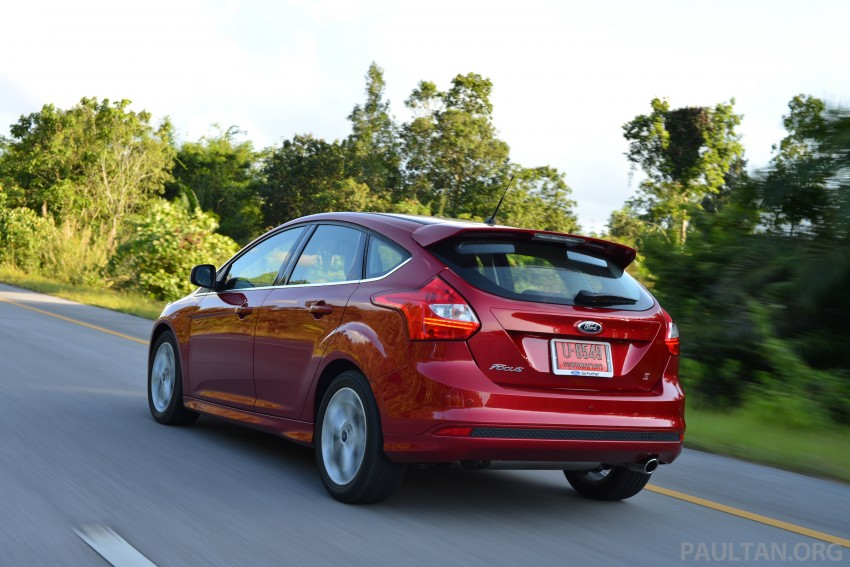 DRIVEN: New Ford Focus Hatch and Sedan in Krabi Image #118886