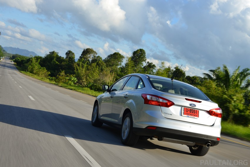 DRIVEN: New Ford Focus Hatch and Sedan in Krabi Image #118887