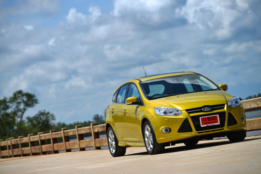 DRIVEN: New Ford Focus Hatch and Sedan in Krabi Image #118743