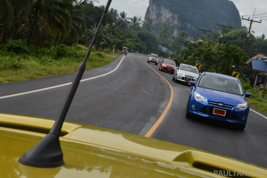 DRIVEN: New Ford Focus Hatch and Sedan in Krabi Image #118901