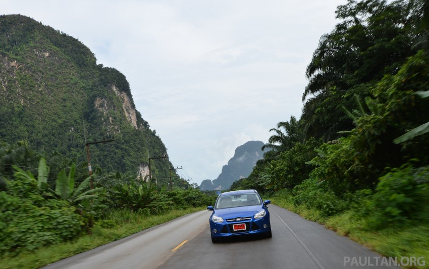 DRIVEN: New Ford Focus Hatch and Sedan in Krabi Image #118903