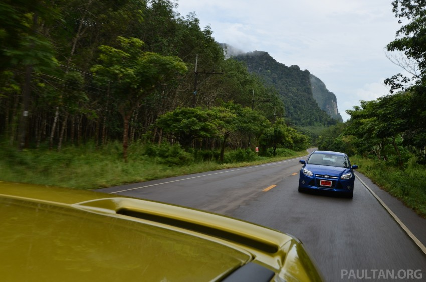 DRIVEN: New Ford Focus Hatch and Sedan in Krabi Image #118904
